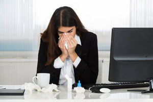 Avoiding the Flu in an Office Environment